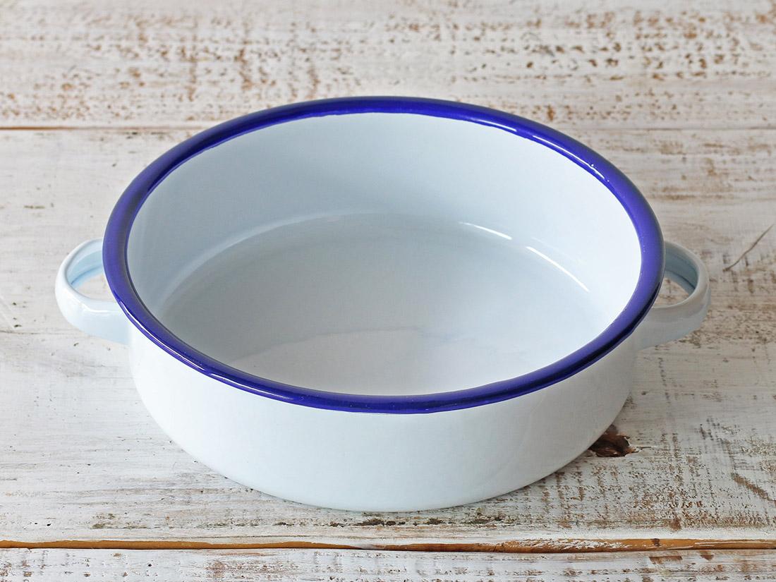 琺瑯グラタン皿 L