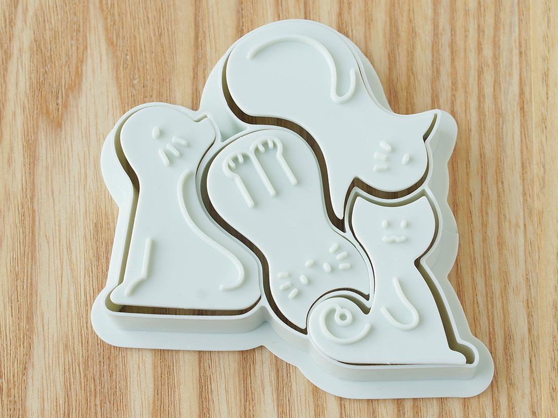 cotta クッキー型 猫セット