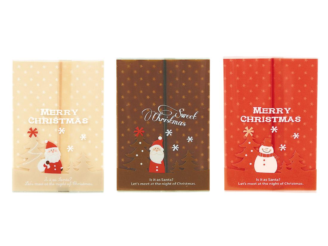 クリスマスガス袋(3柄アソート)