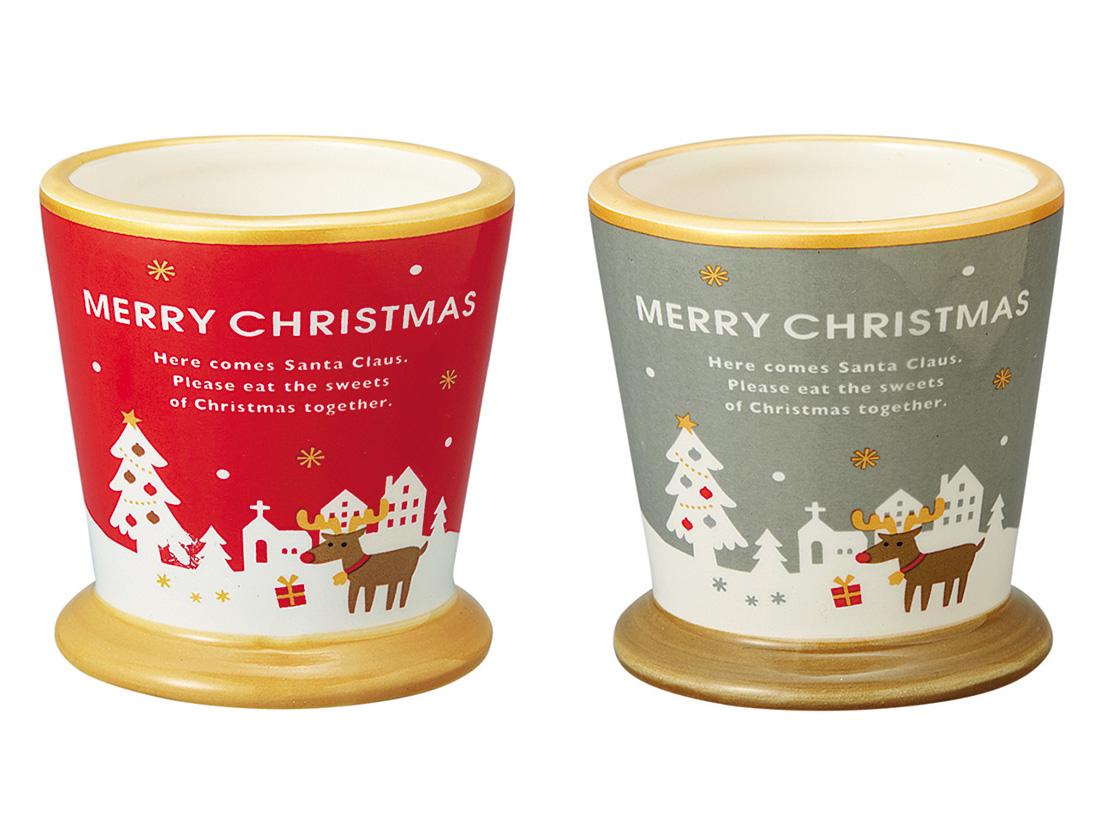 デザートカップ ホワイトクリスマスカクテル(2色アソート)