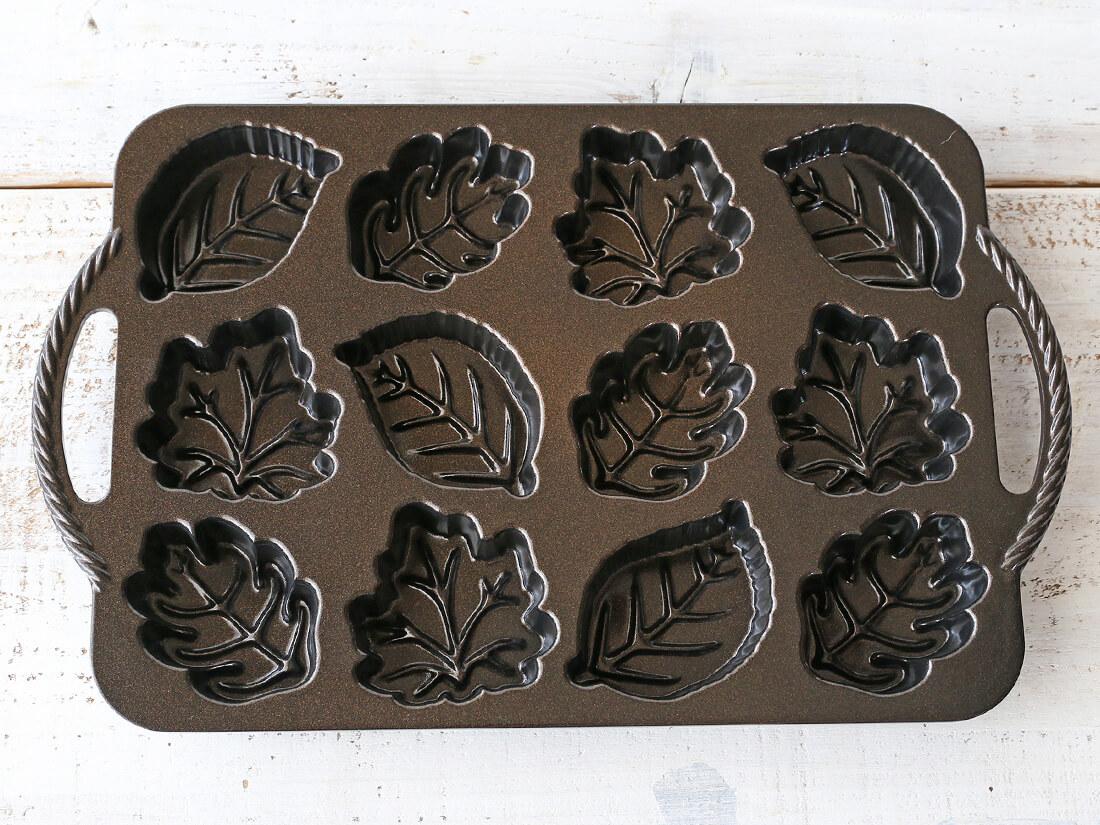 ノルディックウェア  リーフレットケーキパン