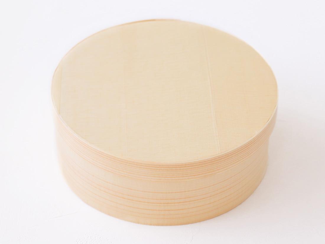 木製ギフト箱  丸 直径140