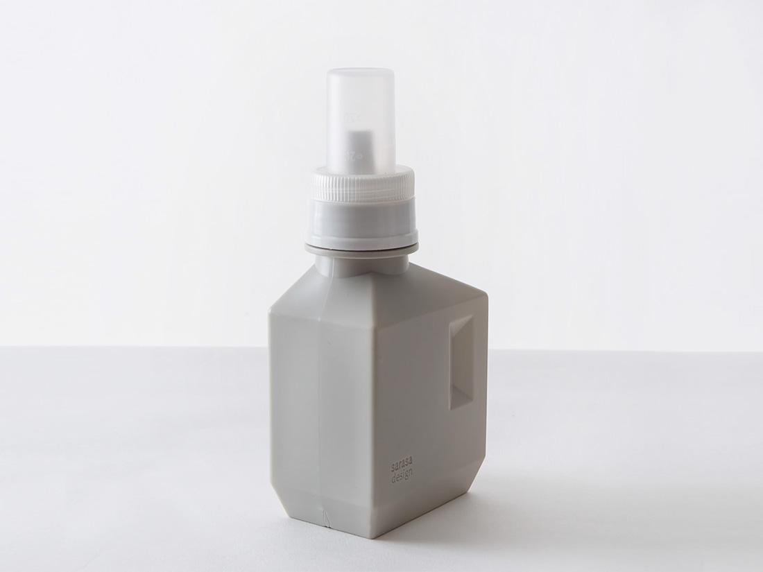 b2c ランドリーボトル S 500ml ウォームグレー