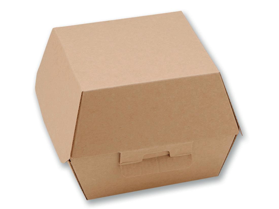 ネオクラフト バーガーBOX 1個用