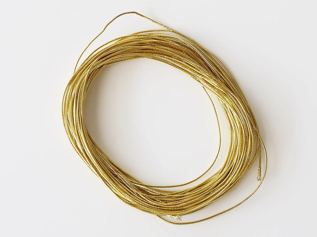 カラーゴム ゴールドM 10m巻