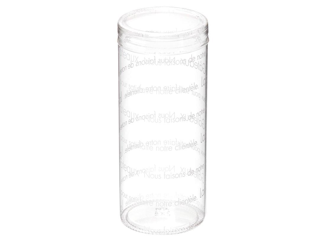 ララガトー円筒ケース 50径×120H ホワイト