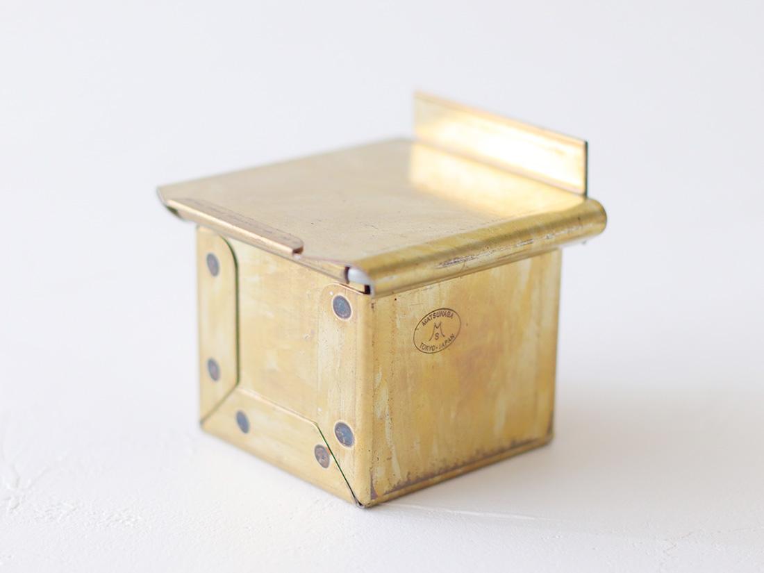 松永製作所 黄金キューブ食パン型 5cm 蓋付き