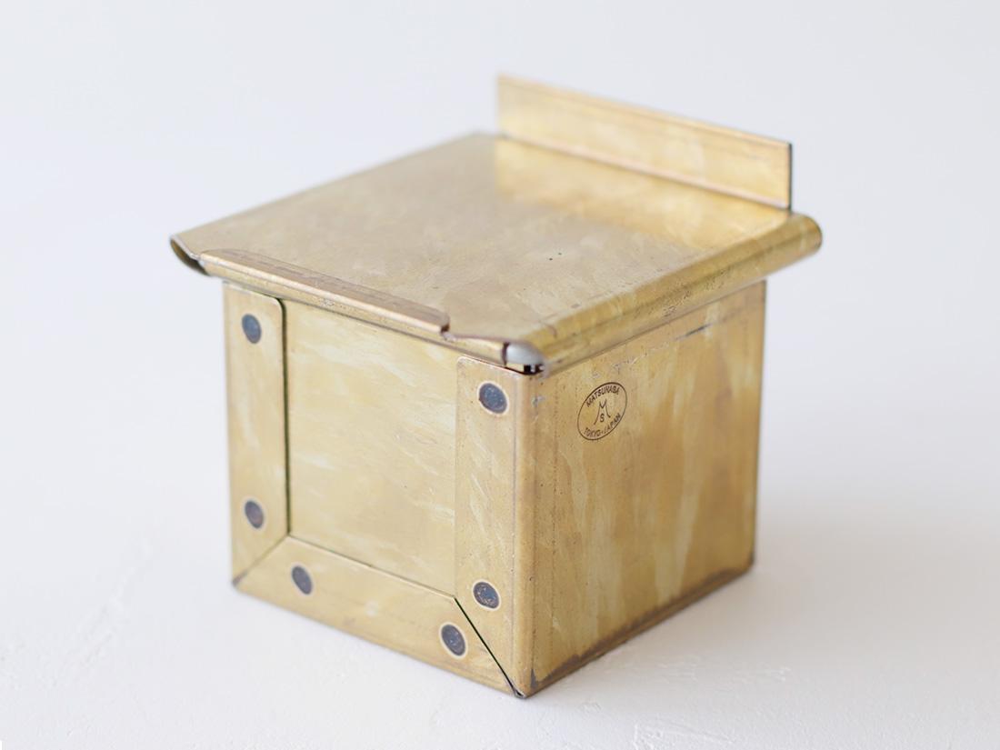 松永製作所 黄金キューブ食パン型 6cm 蓋付き