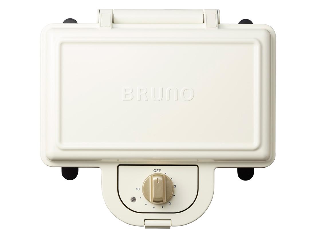 BRUNO ホットサンドメーカー ダブル ホワイト