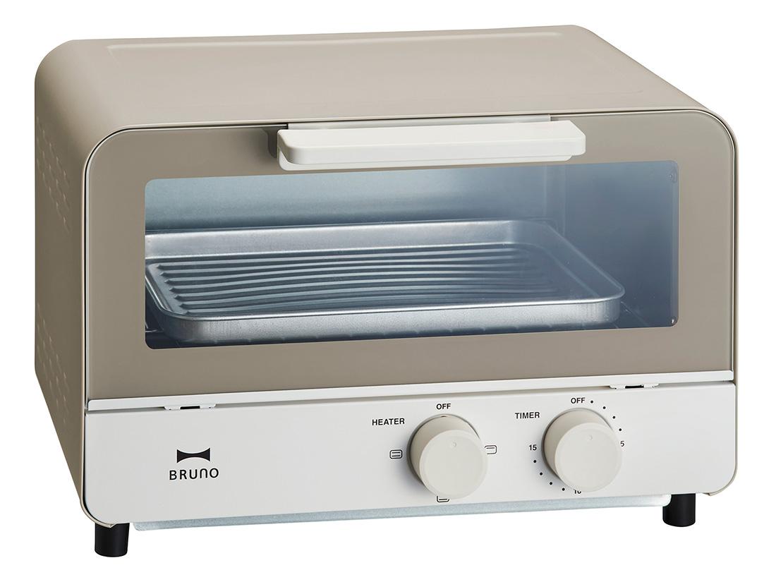 BRUNO オーブントースター ウォームグレー
