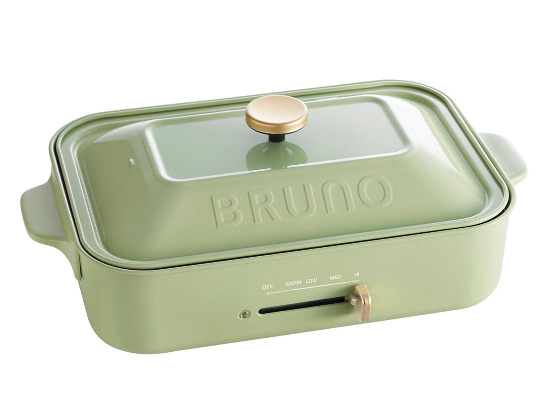 BRUNO コンパクトホットプレート グリーン