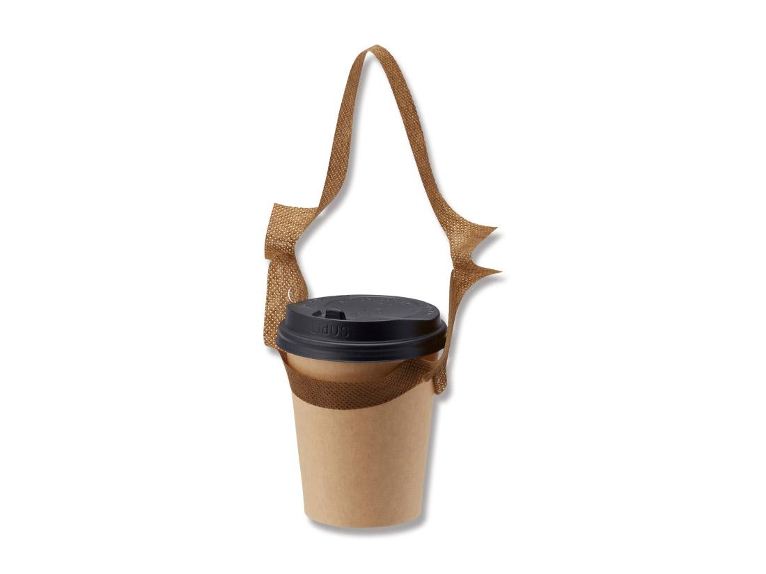 不織布バッグ袋 アミタイドリンクタイプ コーヒー(500枚入)