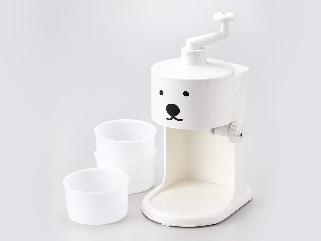 シロクマのふわふわかき氷機
