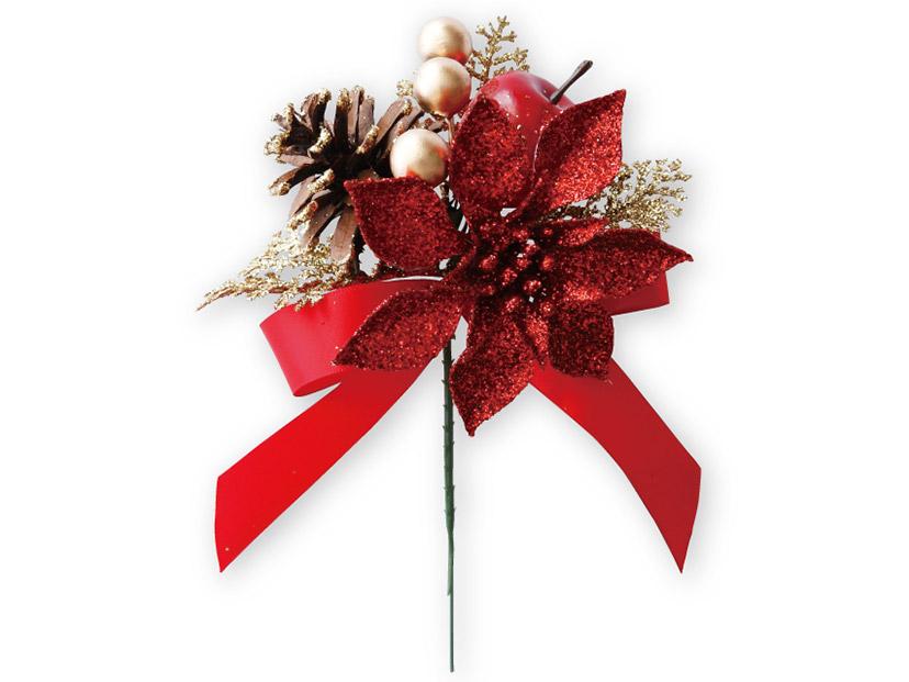 クリスマスの造花 No.9