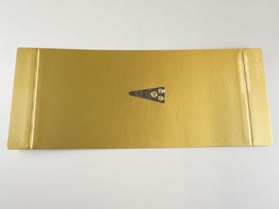 6寸用ロールケーキ金台紙(爪付)
