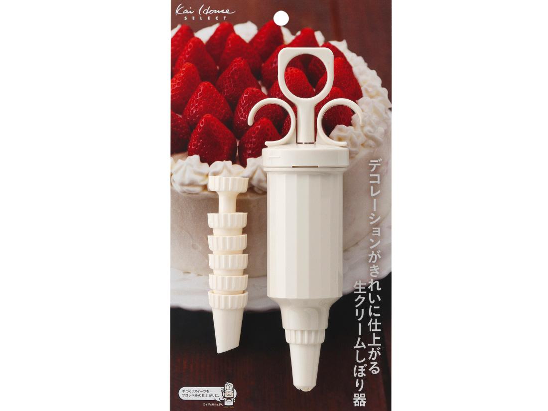 KHS 生クリーム絞り器