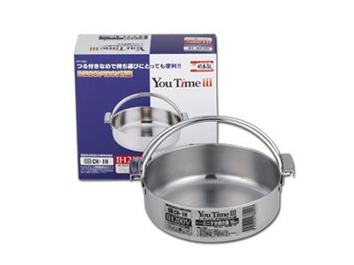ユータイム3 ミニつる付すき焼き鍋 16cm DZ-2002