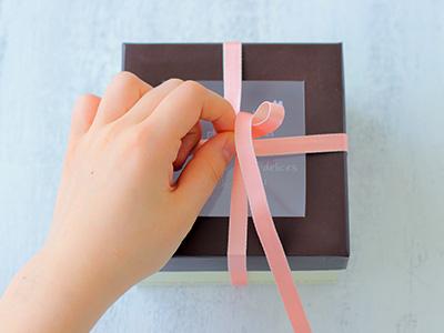 リボン 結び方 箱