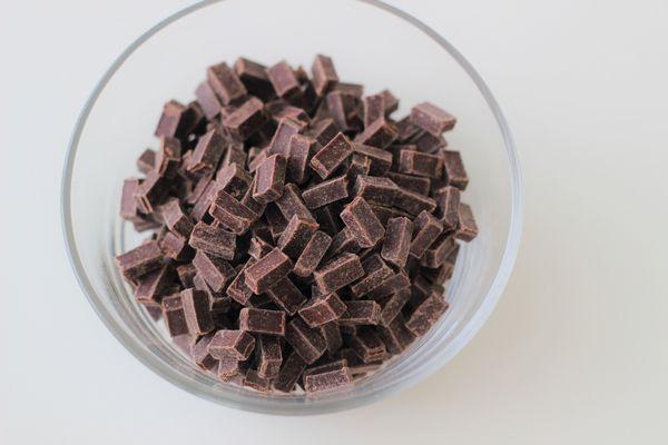 チョコレート クーベル チュール
