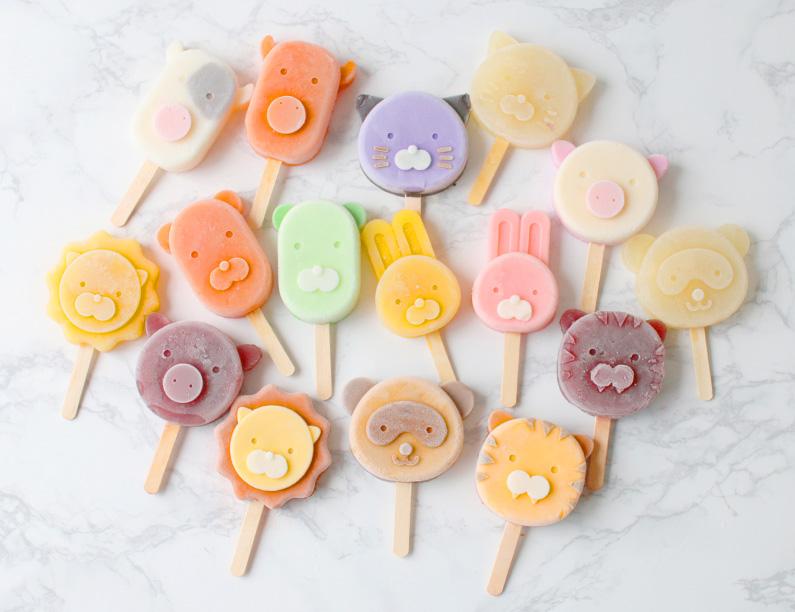 cotta アイスキャンディモールド(ぶた&トラ) | お菓子・パン材料 ...